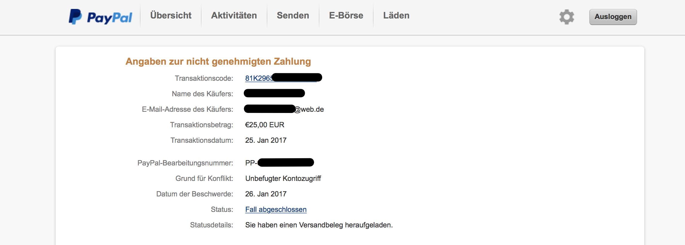 Achtung Vor Dreister Betrugsmasche Bei Paypal Netzgadgetde